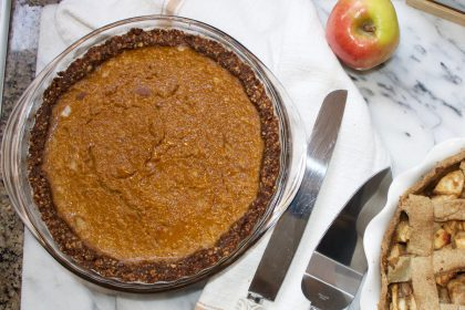ginger snap cookie crust healthy