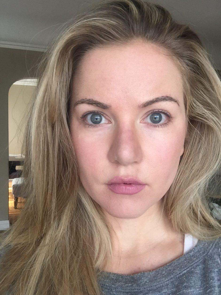 no makeup selfie
