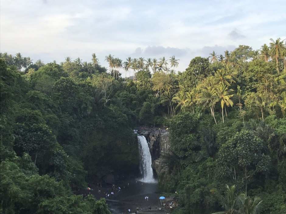 waterfall near ubud