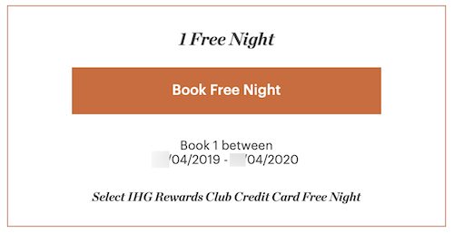 I Got A Very Nice Surprise From My IHG Rewards Credit Card