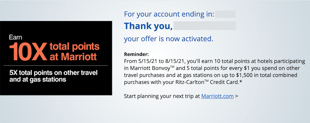 When you get an offer from a credit card, it might feel a little flattering. New Targeted Spending Offers On Chase Co Branded Cards 8x Hyatt 10x Marriott