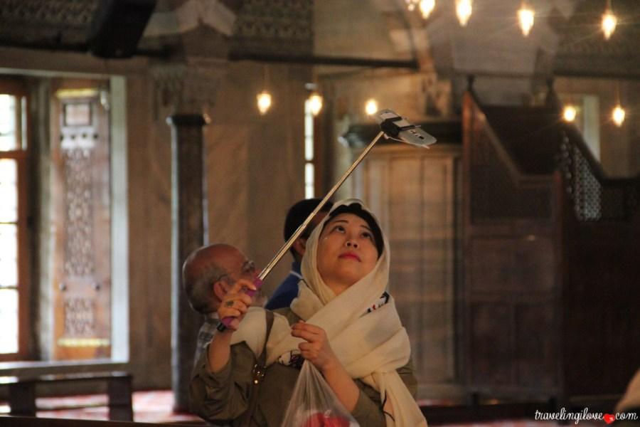 Selfie Blue Mosque (2)