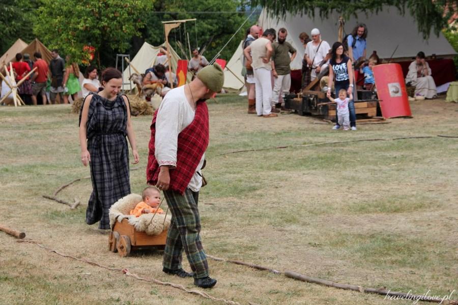 Celtic culture Lughnasad festival in Nasavrky