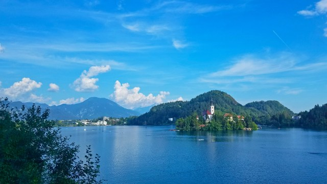 Lake Bled Island by @travelingintandem