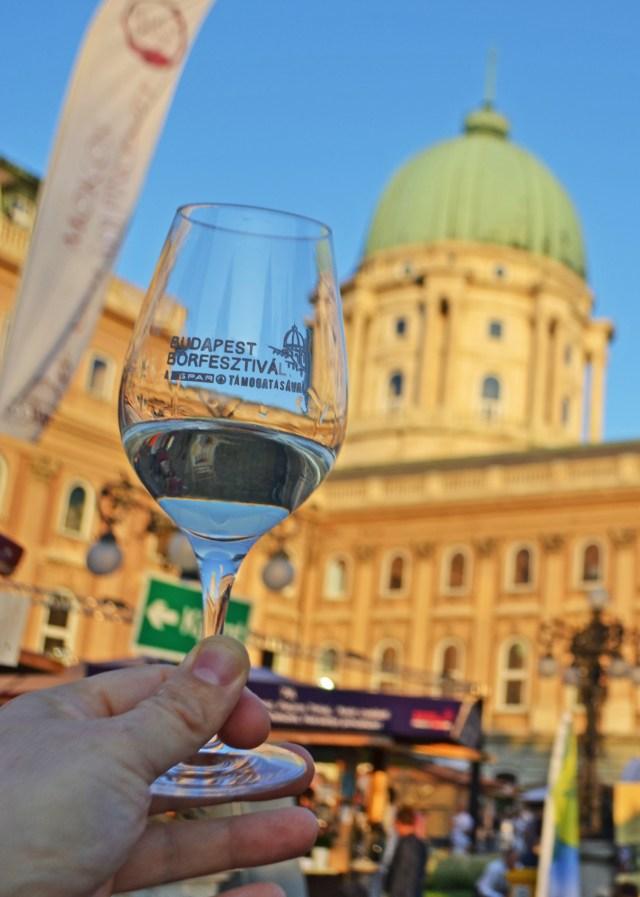 Budapest Borfeszival in Budapest, Hungary. @travelingintandem