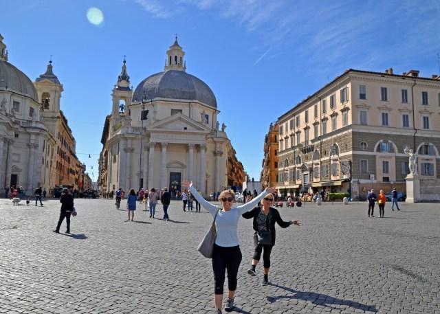 with grandma in Rome @travelingintandem