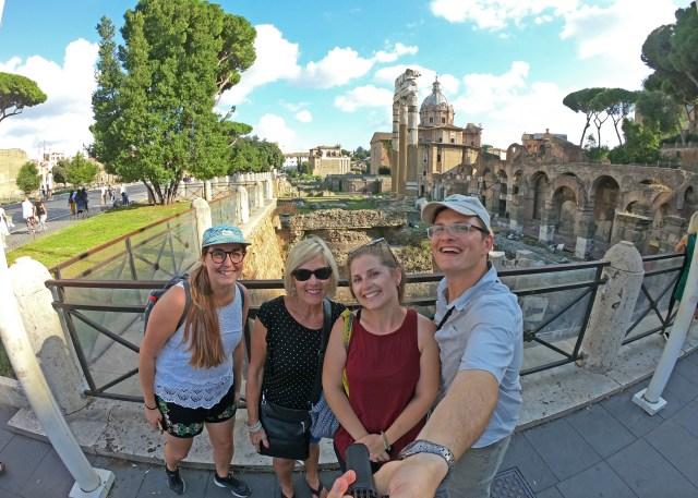 The Roman Forum @travelingintandem