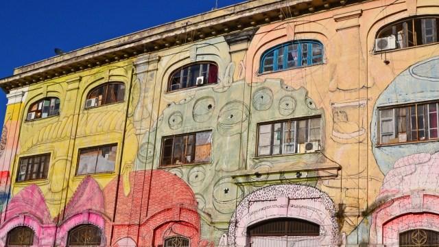 Testaccio street art @travelingintandem
