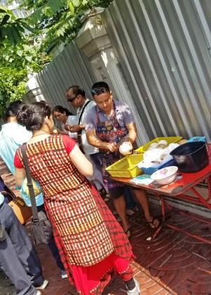 Coconut vendor Bangkok @travelingintandem