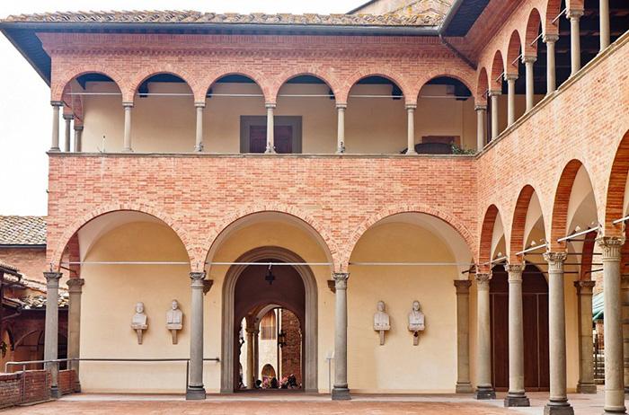 Siena  Oratorio di Santa Caterina in Fontebranda
