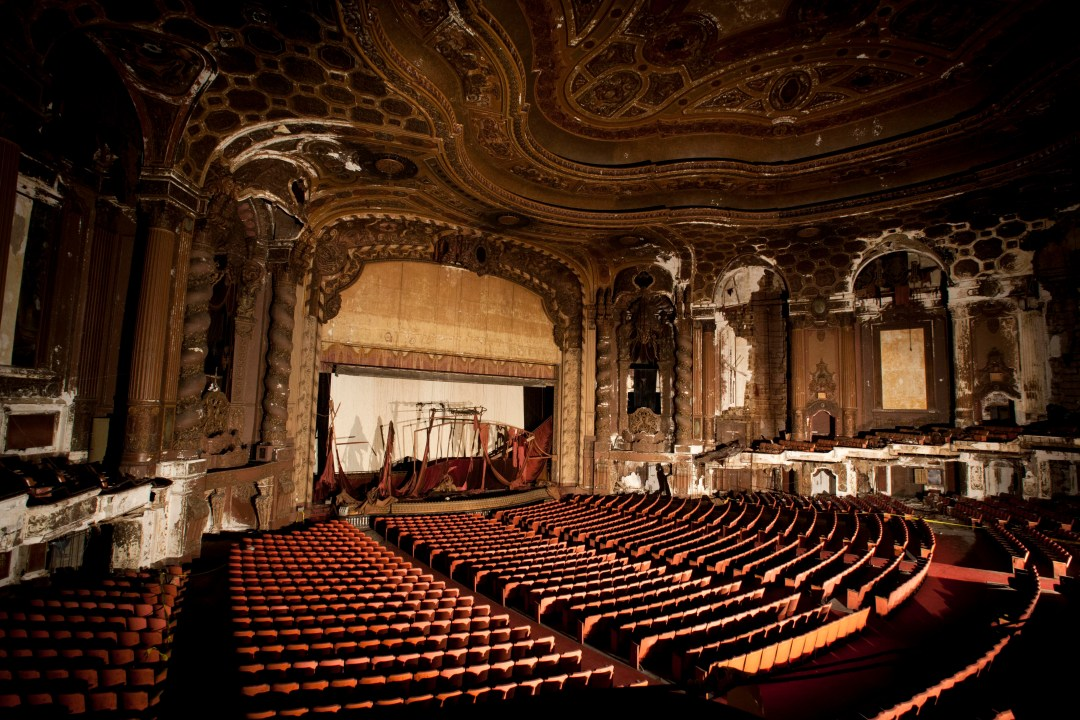 Loews's Kings Theatre in Brooklyn will be restored. Photo by Chasi Annexy