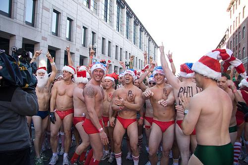 Naked Santa