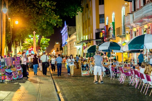 Merida Centro Historico is a pedestrian friendly city