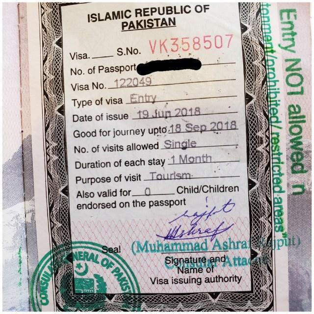 Pakistani Visa