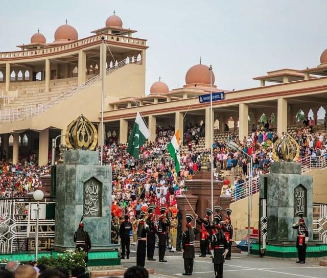 Wahga Border Flag Ceremony