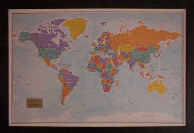 World Map Islamabad