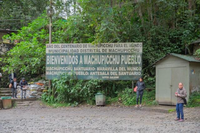 Machu Picchu Welcome