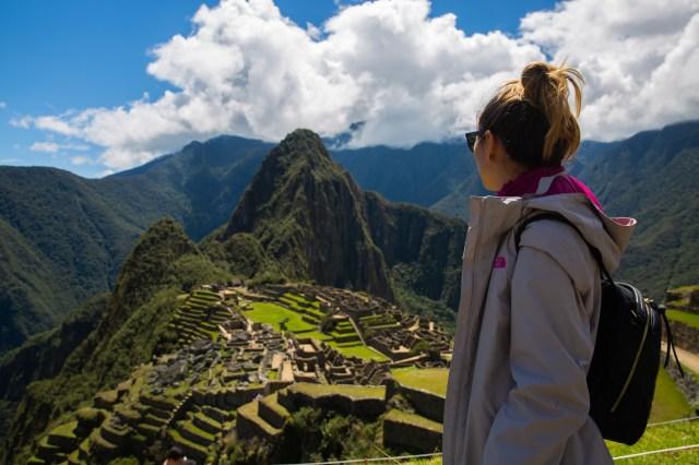 Machu Picchu with Yagmur