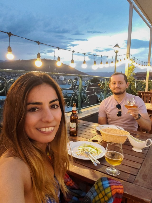 Tbilisi rooftop