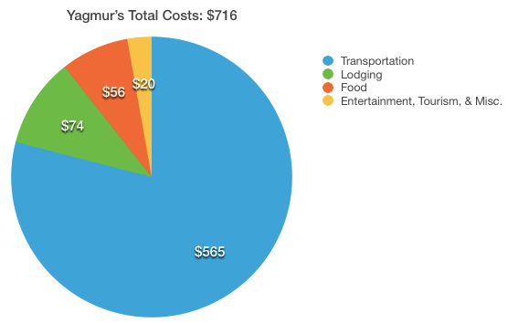 Total Yagmur Costs