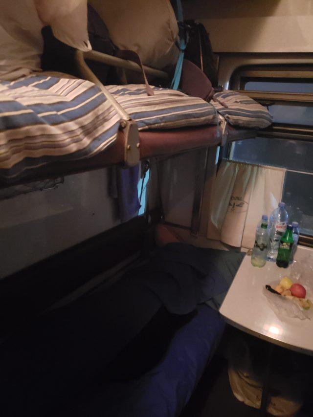 Inside Train 3