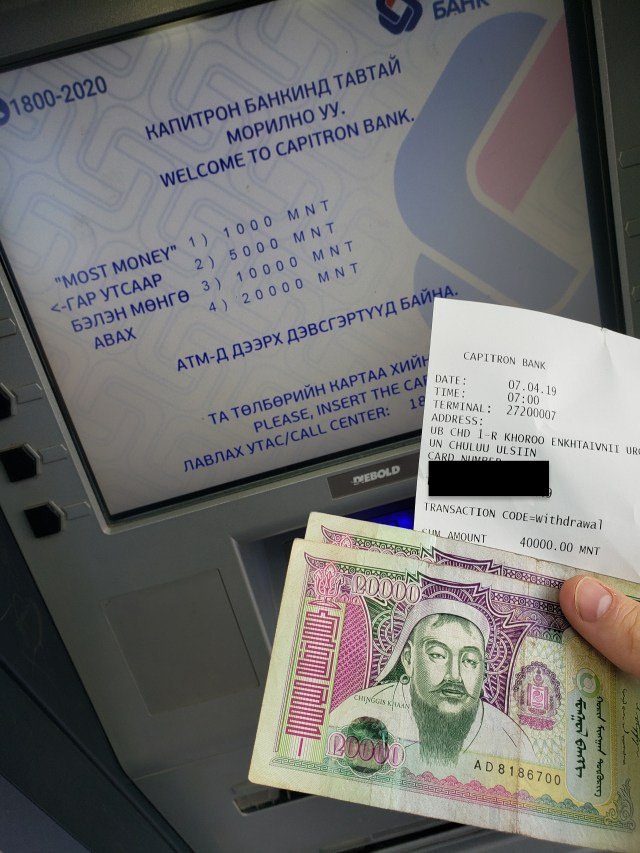 ATM Mongolia