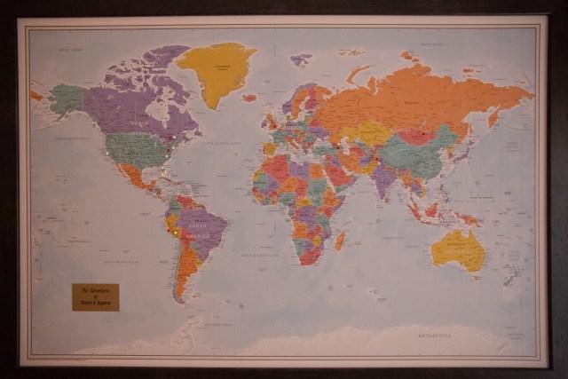 Ulaanbaatar World Map
