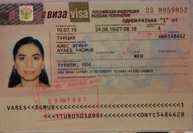 Russian Visa Yagmur