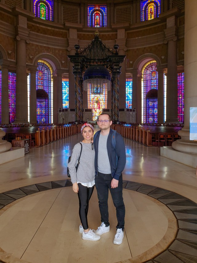 The-Basilica-of-OUr-Lady-of-Peace-Shawn-and-Yagmur