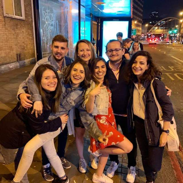 London Group Pic Making Friends