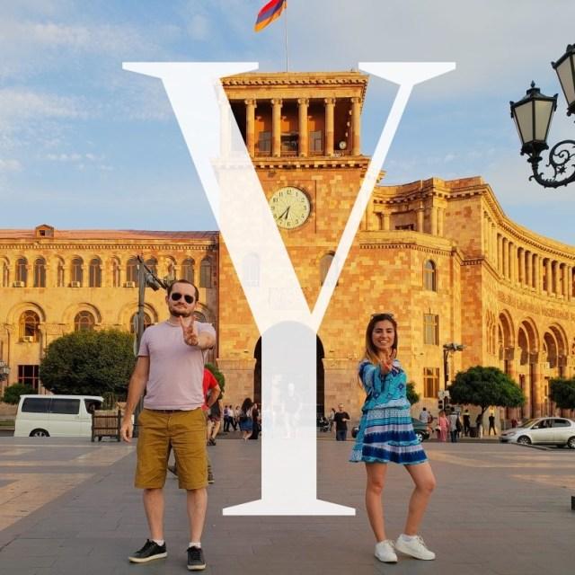 Y - Yerevan Armenia