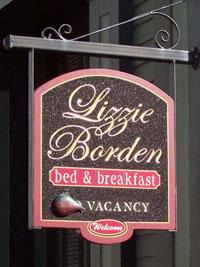 Lizzie Borden Bed and Breakfast - Fall River, Masschusetts