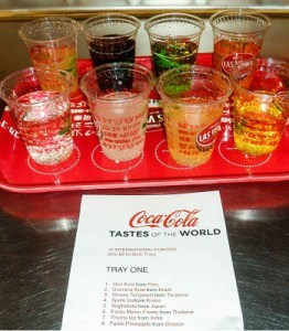 Coca-Cola Tastes Of The World