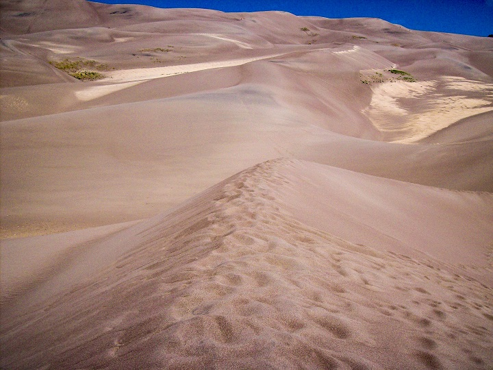 Sand Dunes in Colorado