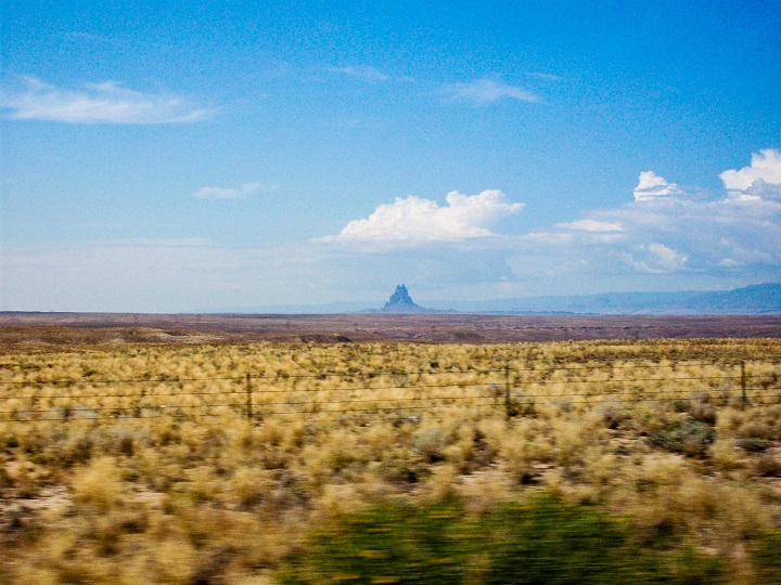 Is that a castle? Nope! Shiprock!