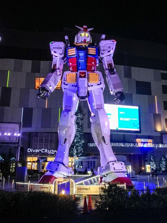Gundam on Odaiba, Tokyo