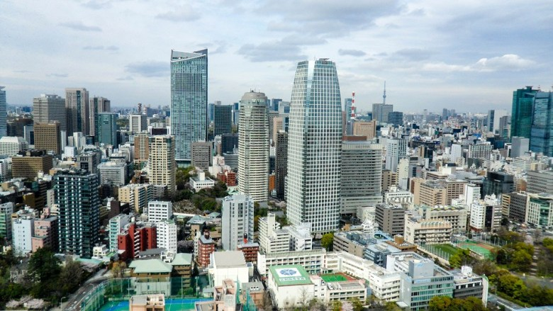 Downtown Tokyo