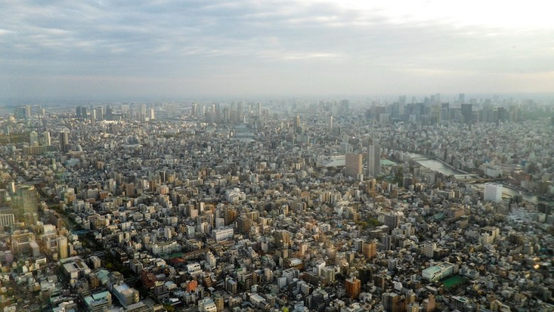 Tokyo view from Skytree