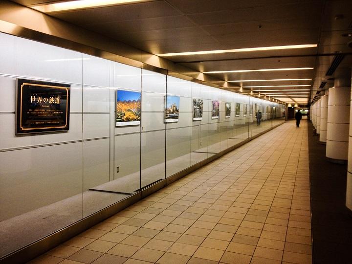 Underground walkway in Tokyo