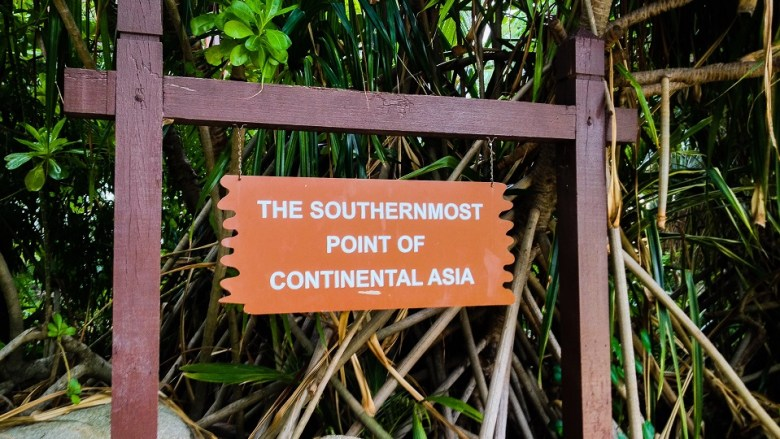 Southernmost Point of Continental Asia