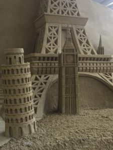 Die Welt in Sand