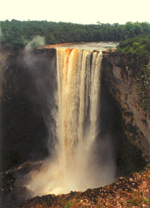 Keiteur Falls at the Potaro River, Guyana