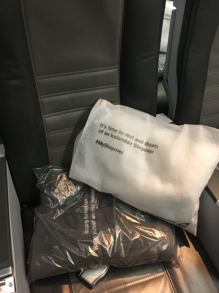 Icelandair Economy Seat