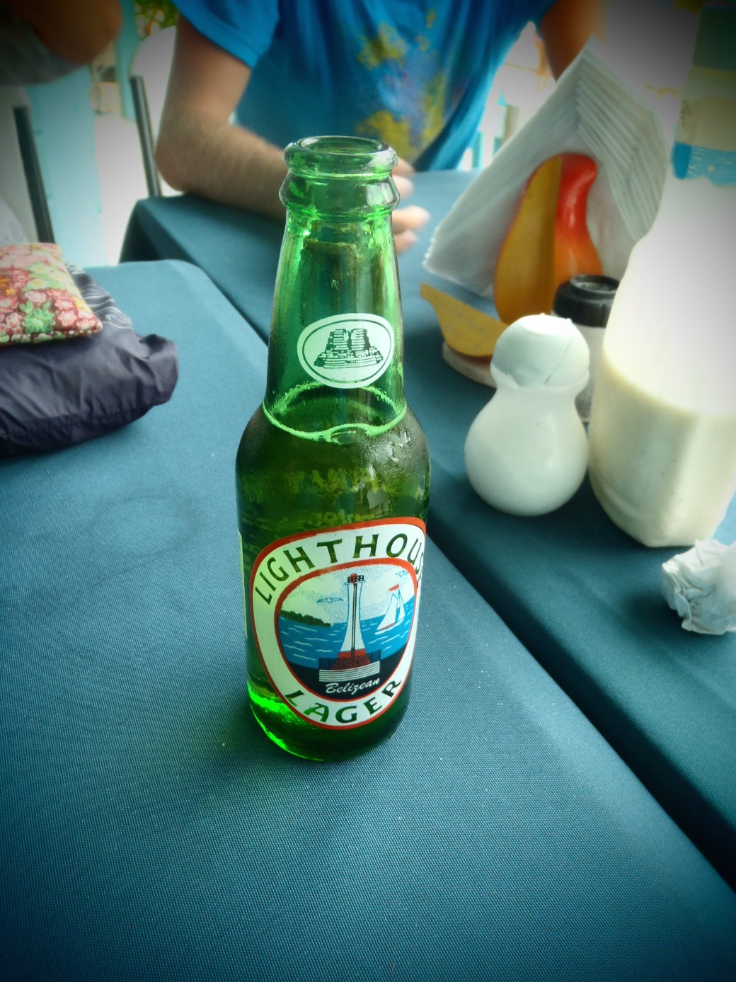 Lighthouse Lager; Caye Caulker, Belize; 2013