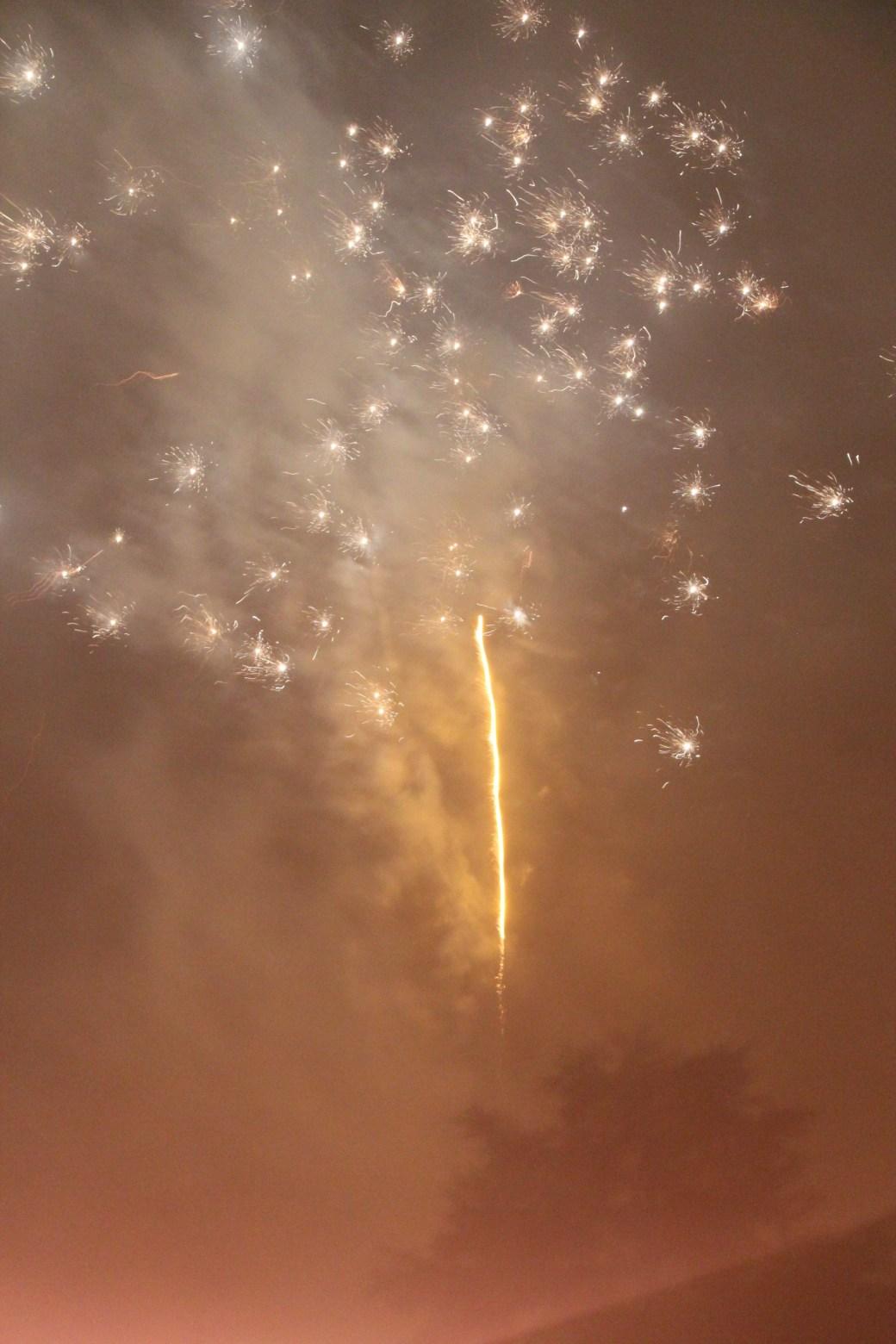 Fireworks; Zurich, Switzerland; 2011