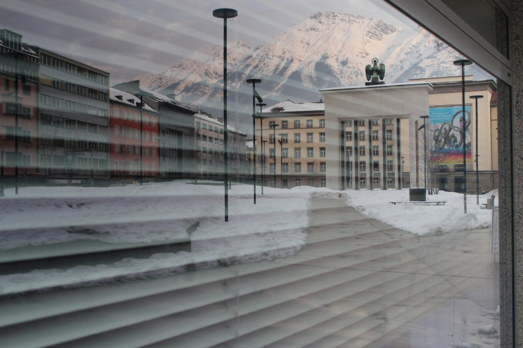 Reflection of the City; Innsbruck, Austria; 2012