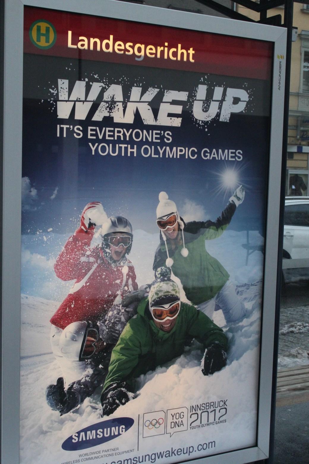 Youth Olympics; Innsbruck, Austria; 2012