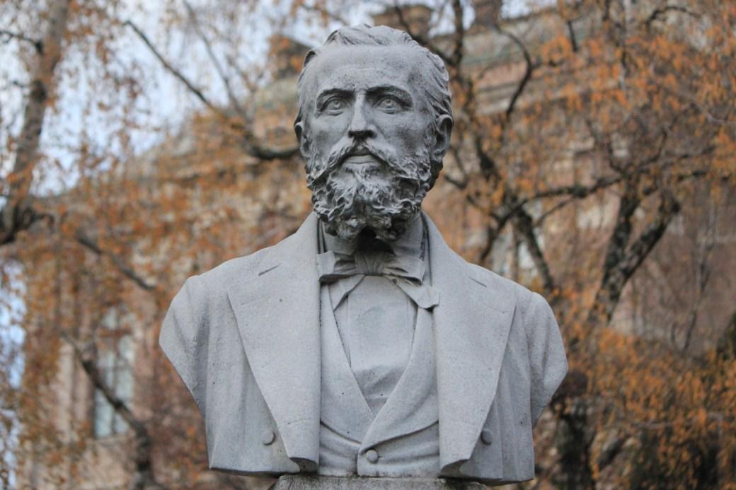 Head Statue; Zagreb, Croatia; 2011