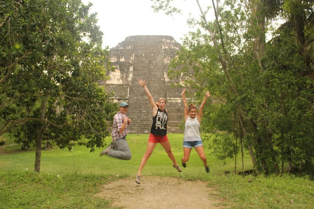 The Cali Girls and I; Tikal, Guatemala; 2013