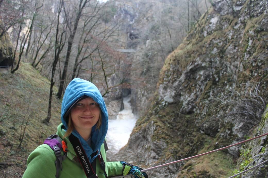 Outside of Skojcan Caves; Slovenia; 2011